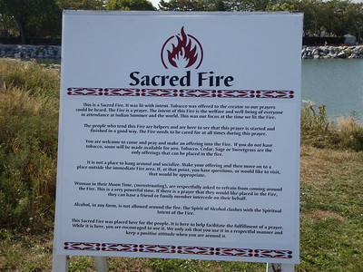 Sacred Fire at Indian Summer Festival 2009.