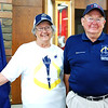 Photo courtesy of Carla Hacker<br /> Torchbearer Viola Bruns and nephew Warren Bruns visited the museum Sept. 17. Warren Bruns was an active volunteer on the Ripley County 2016 committee that oversaw the torch relay and town celebrations.