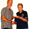 Debbie Blank | The Herald-Tribune<br /> Torchbearer nominee Ronnie McAllister (left), Batesville