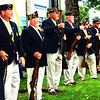 Debbie Blank | The Herald-Tribune<br /> A volley of gunfire by the Versailles American Legion Post 173 honor guard got the attention of the crowd.