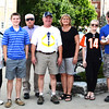 Diane Raver | The Herald-Tribune<br /> Torch bearer Jeff Paul's family was on hand to support him.