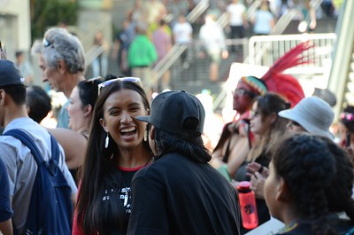 Indigenous Day Rally LA 2016
