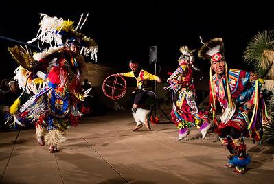 four Native Dancers Indigenous Enterprise 1989