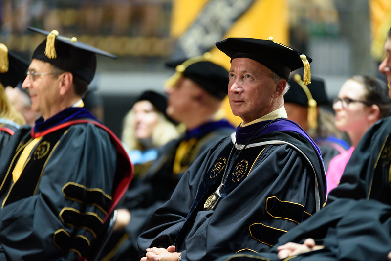 8/16/16 New Student Induction Ceremony, Mitch Daniels