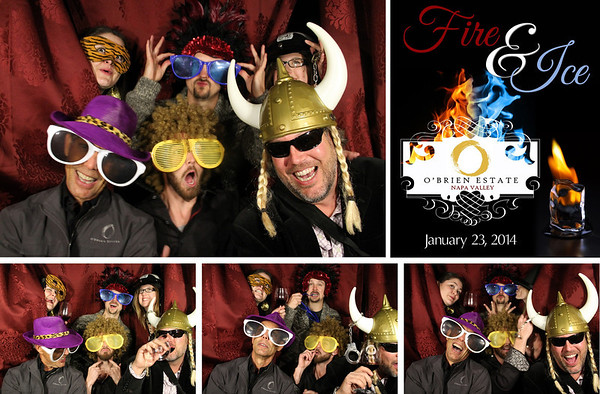 O' Brien Winery Industry Party 1.23.14 Photo Strips