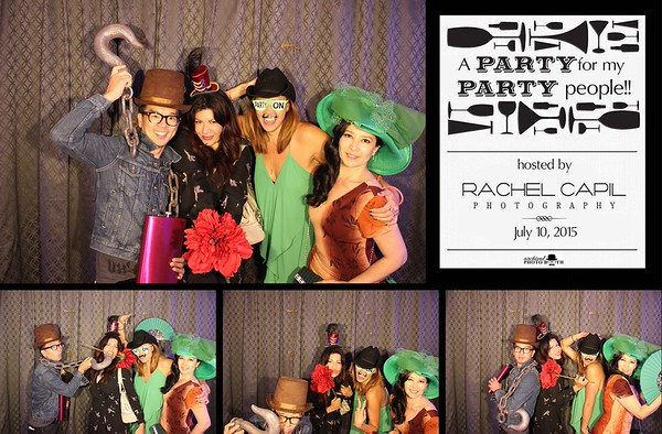Party for my Party People - Rachel Capil - 7.10.15 Photo Strips