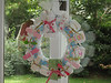 Creative diaper wreath