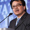 Dr. Craig Shimasaki accepted the Innovator of the Year award for Moleculera Labs. Dr. Shimasaki is CEO and co-founder.