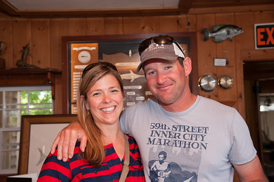 Adam's Camp at the Nantucket Anglers Club, June 15, 2014