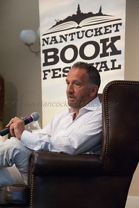 Anthony Marra & George Plecanos, Nantucket Book Festival, Great Hall, Nantucket Atheneum June 20, 2014