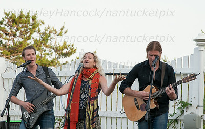 Sally Taylor, Seth & Josh Larson Concert to benefit Partners for Youth with Disabilities, Summer House, Siasconset, MA, July 30, 2014