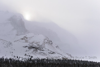 Behind the peaks