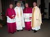 Bishop Sklba, Fr. de Jong, Bishop Callahan and Fr. Cassidy