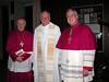 Bishop Sklba, Fr. de Jong and Bishop Callahan