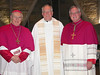 Bishop Sklba, Fr. de Jong and Bishop Callahan.