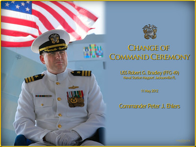 The Change of Command Ceremony is a time-honored naval tradition that passes authority from one commanding officer to another. Few in the public sector have ever witnessed this simple yet profound ceremony. We were honored to be invited and observe our friends, Commander Peter Ehlers and his wife Abby undergo this unique ceremony on the USS Robert G. Bradley FFG 49.