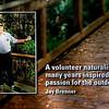 <b>Cypress Swamp Boardwalk Sign Remembering Jay Brenner</b> <i>- Jay Paredes</i>