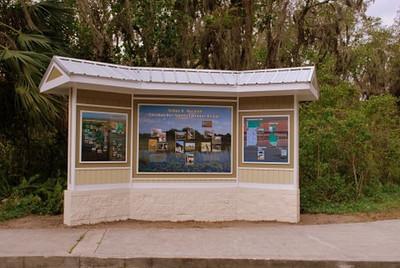 <b>Kiosk across from Visitor Center</b> <i>- Kay Larche</i>