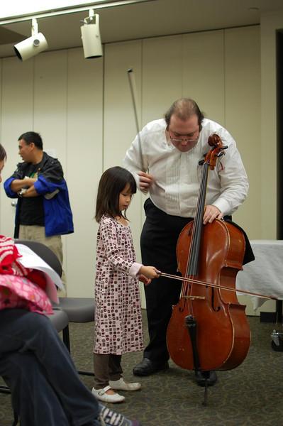 Nova Vista Symphony at the Sunnyvale Library