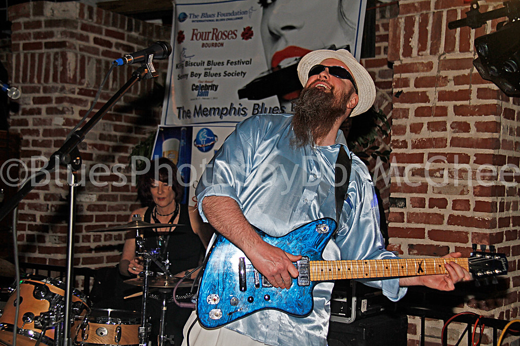 "Dixie Street, Sean ""Bad"" Apple<br /> All Night Long Blues Band"