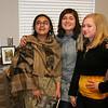 Aqsa, Aydan, and Nastia at McCain Middle School, Payette, Idaho