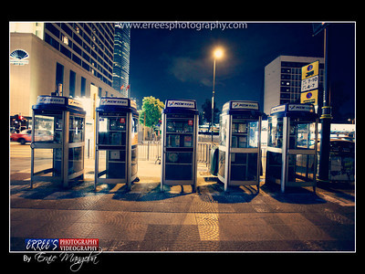 Payphone at Central Park, Hongkong ~PCCW Connection of Telephone Company.