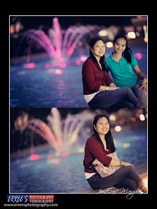 Evangeline Metiam with companion @ Central Park, Hongkong