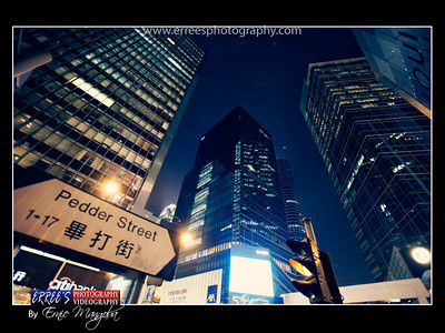 Pedder Street at Central, Hongkong