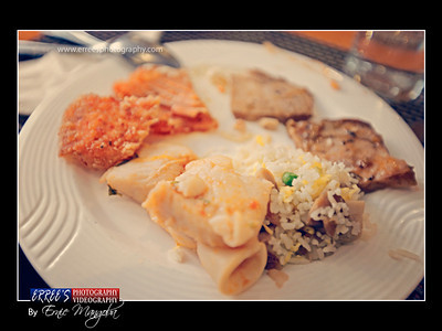 Metro Park Hotel , Macau  ~ The unlimited food during our Lunch last Sept. 26, 2011