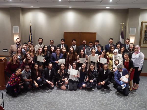 International Student Dinner Dec. 2, 2017