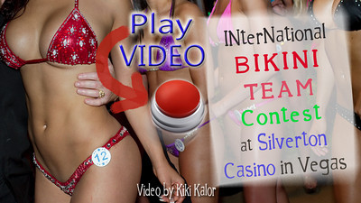 Video of bikini contestants and sexy bodies in Las Vegas.