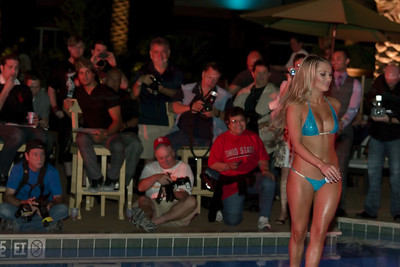 Pictured here is Amanda Corey winner of Aloha Silverton Bikini Contest. Which is strange because Amanda is given the crown every year - crap like this is prevalent in Las Vegas and makes you wonder if it's a set-up! Photo at International Bikini Team Aloha State swimsuit competition contest Silverton Casino Lodge pool side Sway with bikini models from around the world including USA. $4500 Prize money to the top 10 competitors with top 2 going to Bahamas on all expenses paid trip. Jaymes Vaughan The Russell Group was your host and lively emcee for the night. More information at  http://www.internationalbikiniteam.org/  Win prizes free trips win money submit your photograph for contest consideration Contact email   models@internationalbikiniteam.org
