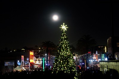 Christmas Tree Lighting  - Hermosa Beach Pier