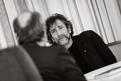 Interview Neil Gaiman Vienna 10/2014