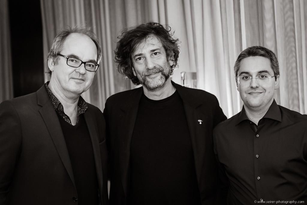 Interview Neil Gaiman Vienna 10/2014