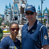 Gabby Graves-Wake - US Marine Corps (left) and Yancy Taylor - Army Sergeant First Class (right), Invictus Games Parade at Magic Kingdom Walt Disney World, Florida - 6th May 2016 (Photographer: Nigel G Worrall)
