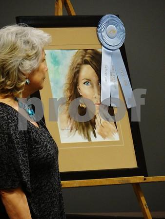 """Donna Jelmeland artist of """"Ellie"""", awarded Doris Frandsen Award"""