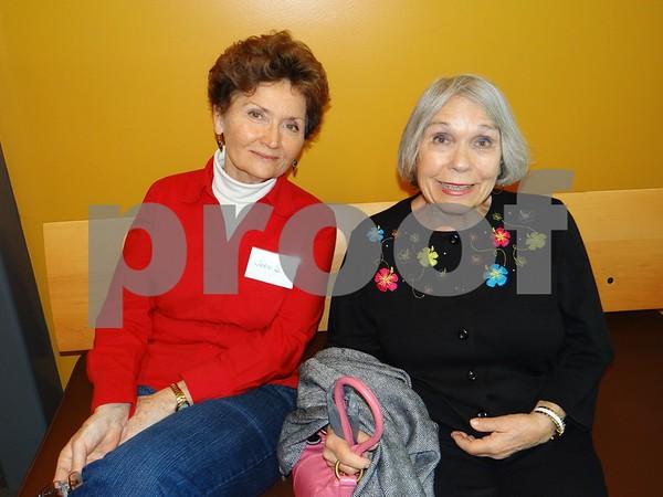 Joan Sullivan and Chuoky Tomlinson
