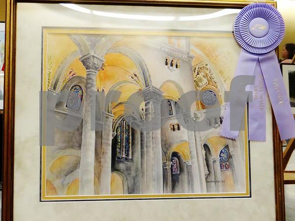 Joan Kafer Kerns painting awarded with the Richard Heggen Award.