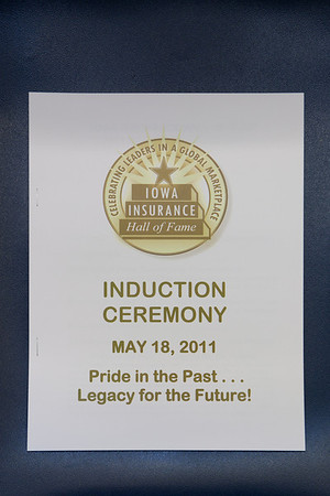 Iowa Insurance Hall Of Fame 2011