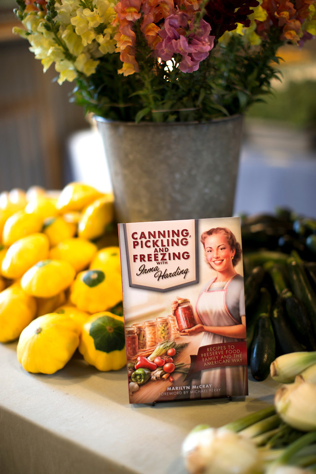 Canning, Pickling and Freezing with Irma Harding by Marilyn MCray