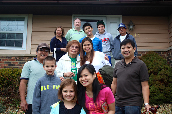 Irmi and Ramirez Family's Illinois Visit