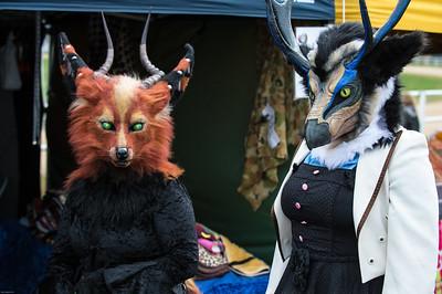 Foxy with Friend