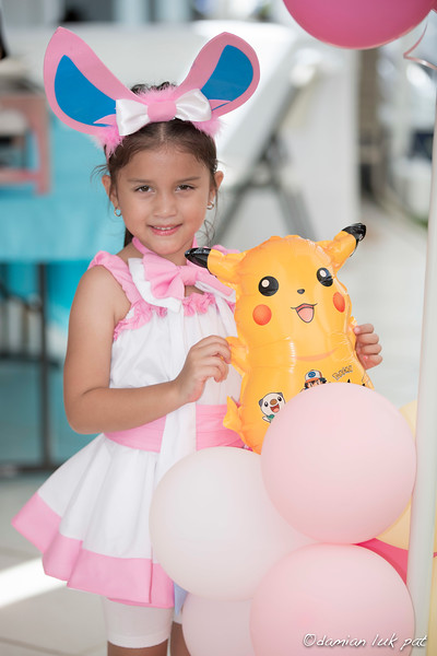 Irvana 7th Bday Pokemon Party