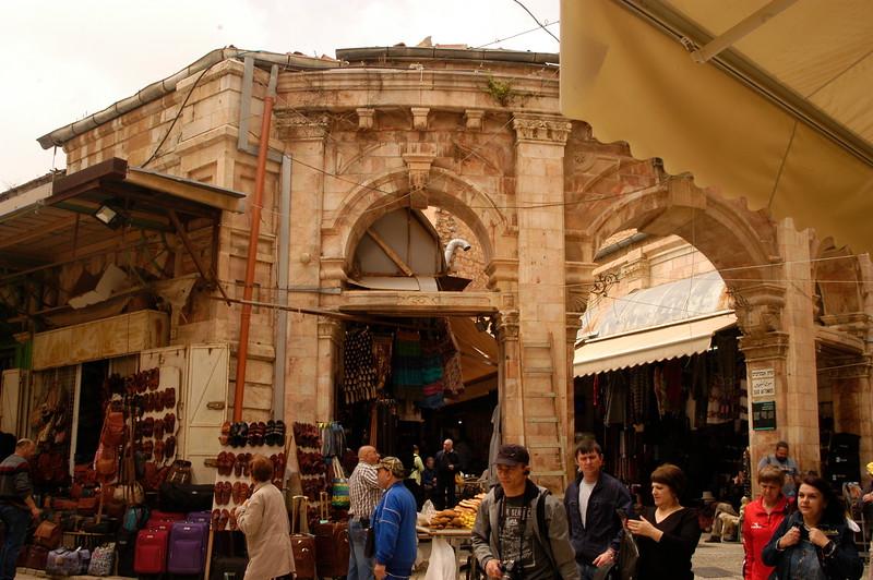 Inside the Old City of Jerusalem.