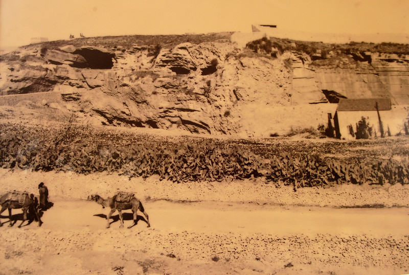 Older photo of Skull Hill (Golgatha).