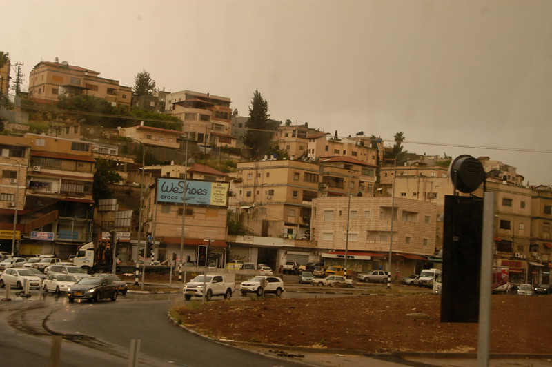 In the town of Nazareth.