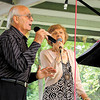 Gino and Ezia Raman were the first singers to take to the stage Saturday at the Italian Festival. — Sam Luptak Jr.