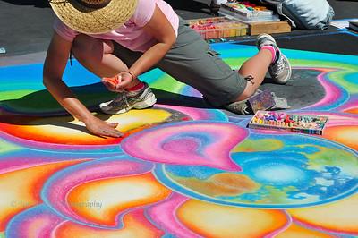 Italian Street Painting Festival - San Rafael, CA