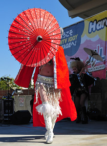 Yuka performing in Japantown, August 2009  (C) 2009 Brian Neal